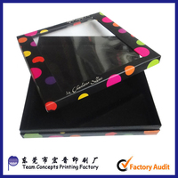 Luxury Clear Plastic Window Candy Chocolate Boxes