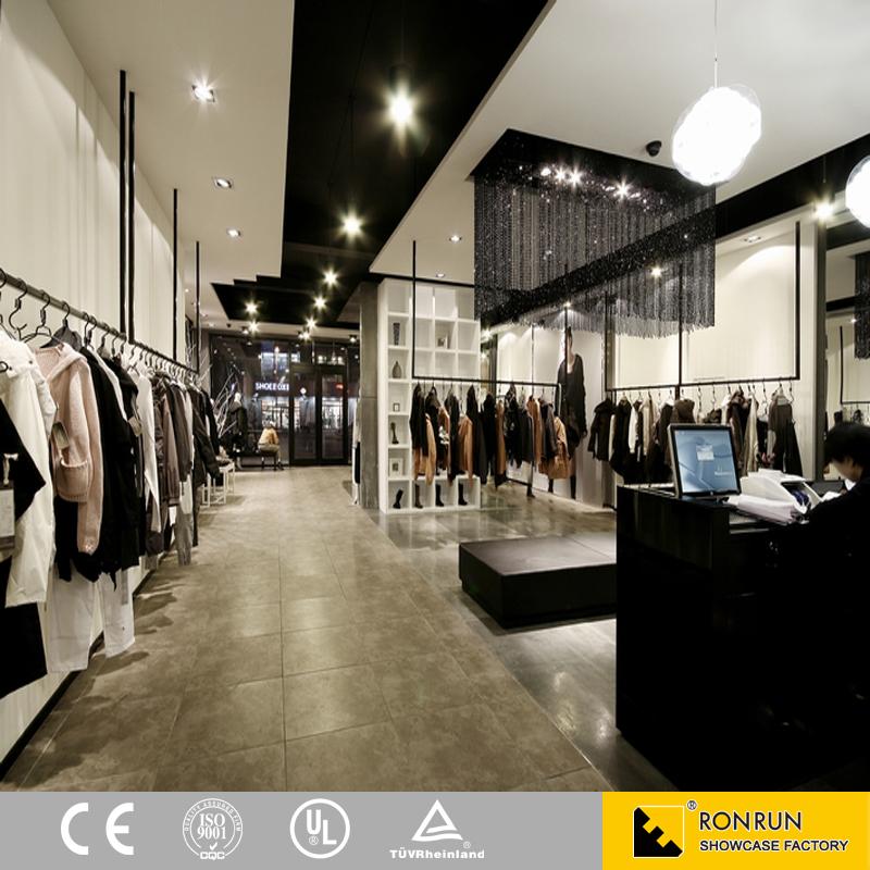 Retail Store Design Job Description: Oem Odm Fashion Garment Retail Interior Design Clothes