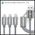 3IN1Multi Sync Micro USB Data Charger Cable For iphone 5/6 Samsung type-c