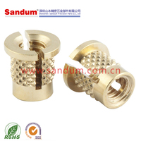M2.5/M3 threaded brass insert nut screw