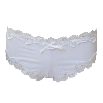 22a3fd6ef0c491 Breathable nylon plain sexy lace hipster panties micro fiber g string  panties