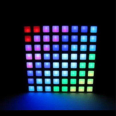 New Products Full Color Square Dot rgb Led Matrix 8x8 Dot Matrix <strong>Display</strong>