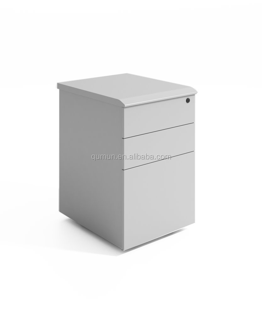 China factory price office furnituer melamine mobile pedestal with locker