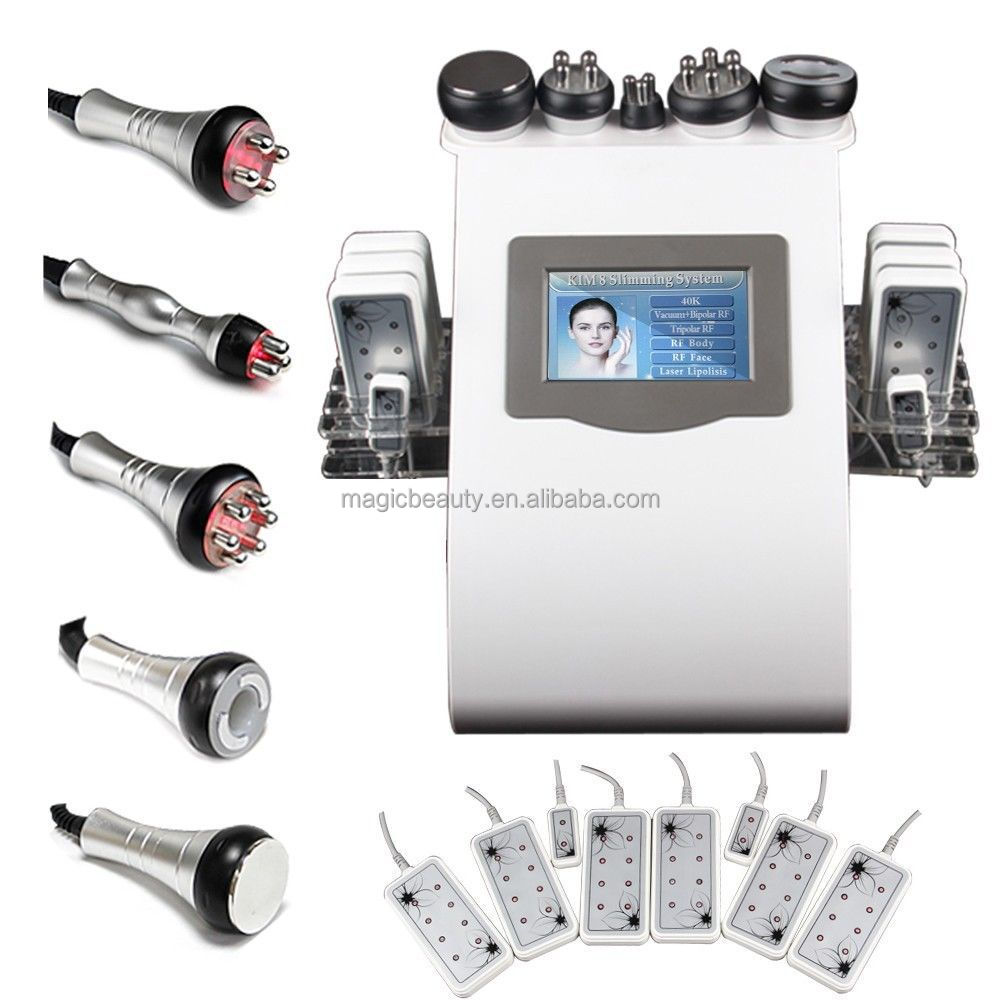 Professional Slimming Machine B0105B 6 in 1 CE Approved Ultrasonic Cavitation RF Weight Loss Equipment