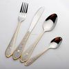 buy wholesale gold-plated royal Stainless Steel Cutlery Set gold plated flatware wholesale