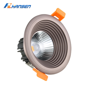 Good Price 5W LED Mini Downlight Fixture cob light Ra>80 Warm White With Different Color Shell