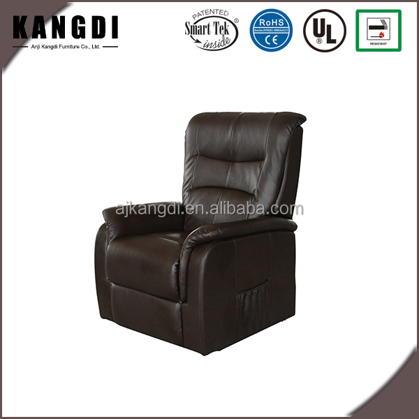Modern design rock leather rise electric home massage lift chair for old people