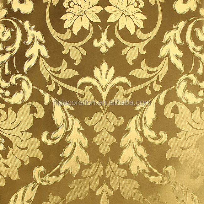 Golden Leaves Wallpaper Gold Leaf Design