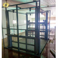 7LSJD Shandong SevenLift warehouse 500kg goods stationary outdoor hydraulic electric chain cargo lift table