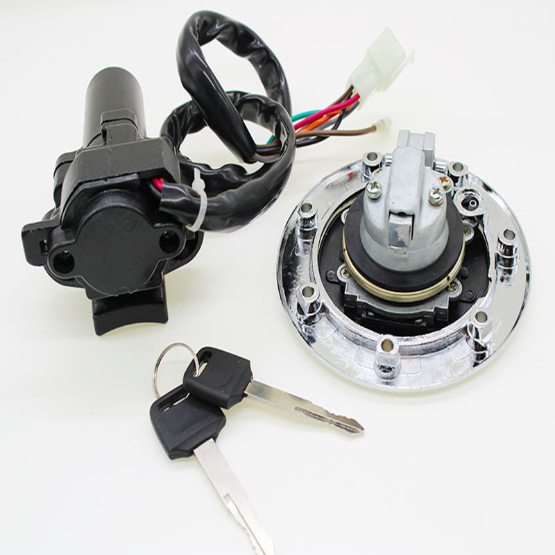 2017 Low price high quality ZX7R ZX9R ZXR400 ZX900 motorcycle ignition lock set fxcnc racing runmei factory parts with 2 keys