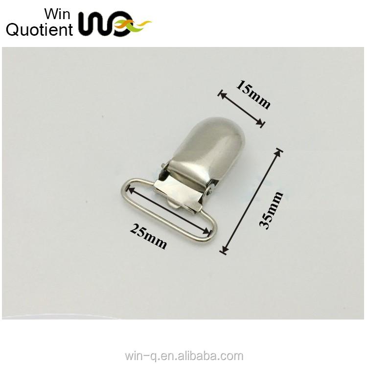 5e9196ca99a Small Size 25mm Metal Suspender Garter Clip Bra Garter Belt Clip ...