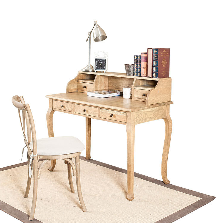 Buy French American country antique oak writing desk chair bedroom study  desk computer desk dual in Cheap Price on m.alibaba.com - Buy French American Country Antique Oak Writing Desk Chair Bedroom