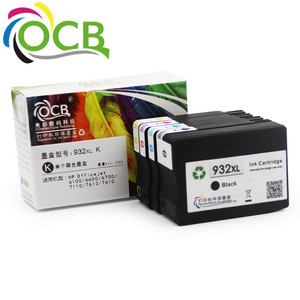 Ocbestjet For HP 932 XL 933 XL For HP 7610 Printer Cartridges For HP Officejet 6700 Premium e-AIO Printer Ink Cartridge
