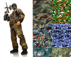 Wholesale 100 polyester fabric manufacturers microfiber Camouflage cloth