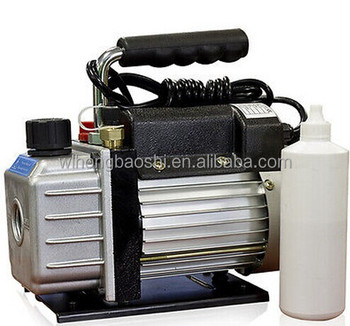 Combo 4cfm 1/3hp Air Vacuum Pump Hvac A/c Refrigeration Kit Ac ...