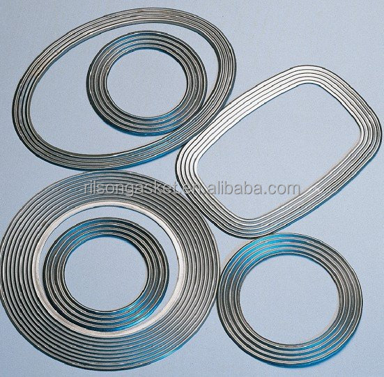 (ASTM & DIN) High Performance and Cheap Corrugated Metal Gasket for Sales made in China