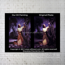 100% handmade high quality Jesus Christ oil paintings on canvas