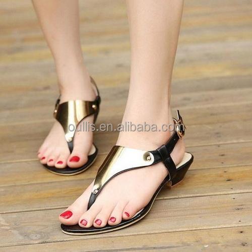 2016 Wholesale Women New Stylish Flat Sandals Pm3506