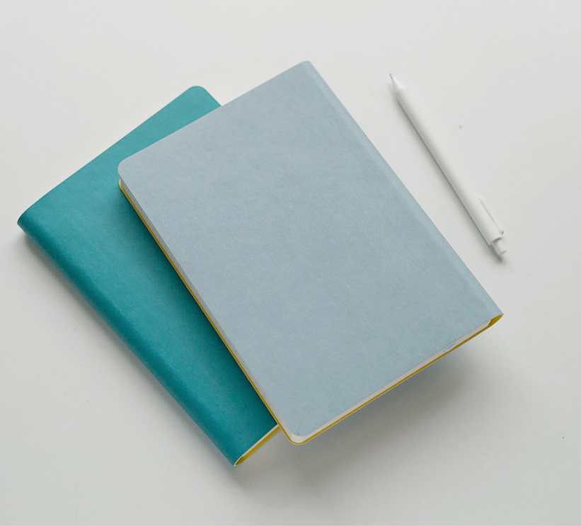 A5 Soft cover planner/Fashion synthetic leather Diary Customizable inner page design and logo