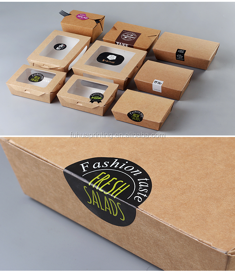 biodegradable cardboard take away catering food transport boxes