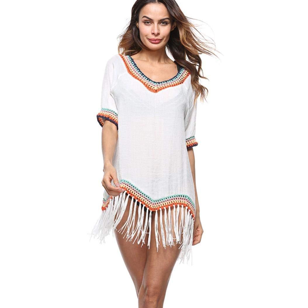 e057488ff9a442 Get Quotations · Hot Sale!Swimsuit Cover-Up,Todaies Bohemian Women Swimwear  Beachwear Bikini Cover-