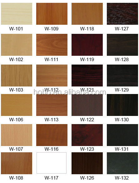high quality wood grain color decorative pvc kitchen With kitchen cabinets lowes with colored sticker paper