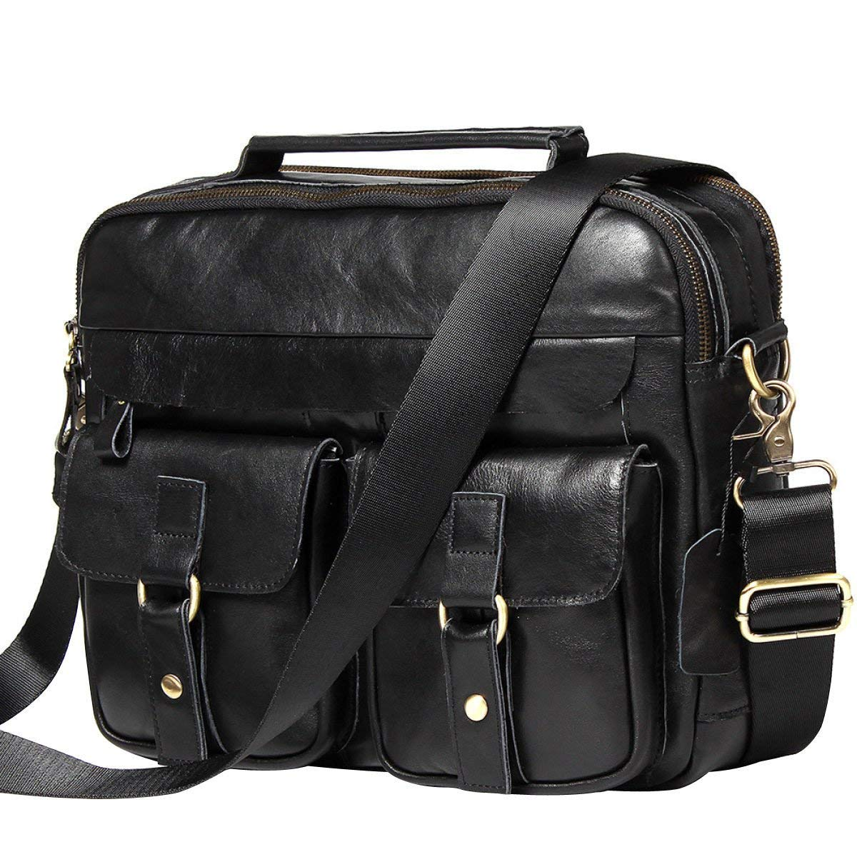1d38cf76efc9 Cheap Black Leather Bag Mens, find Black Leather Bag Mens deals on ...