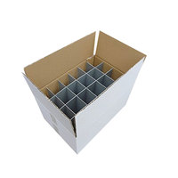 High quality recycled 24 bottles packaging cartoncorrugated carton sweater box shipping box