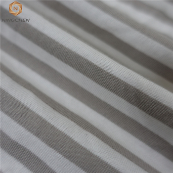 organic baby cotton knitting fabric certificate 100% cotton flame retardant knitting fabric for baby's clothing cotton fabric