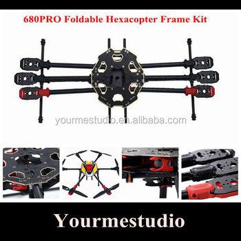 Tarot 680pro Six-axis 6-axis Folding Hexacopter Aircraft Frame Kit Tl68p00  - Buy 6-axis Hexacopter Aircraft Frame Kit,Hexacopter Frame Kit,6-axis