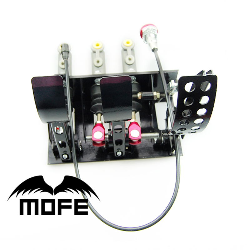 MOFE Racing Floor Gemonteerd Kit Auto Kabel Clutch Pedal Box