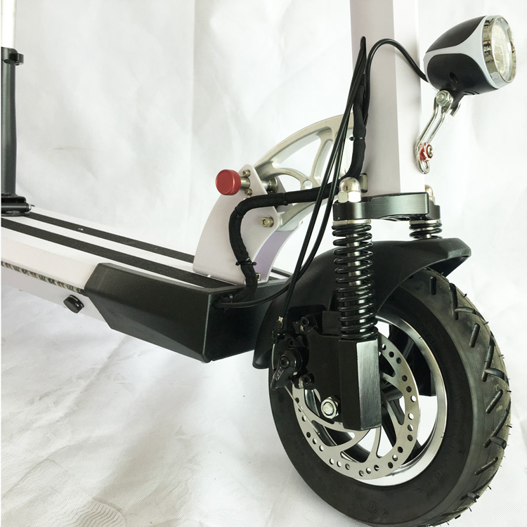 Hot Sales 2-wheel With Seat 8ah/36v 350w Motor Foldable City Electric Scooter
