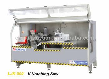 Ljk-500: Notching Saw For Aluminum Cutain Wall Fabrication ...