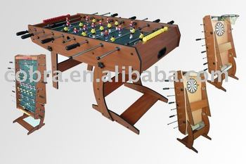 United Kingdom Popular Games Table,Multi Functional Game Table,3 In 1  Folding Foosball