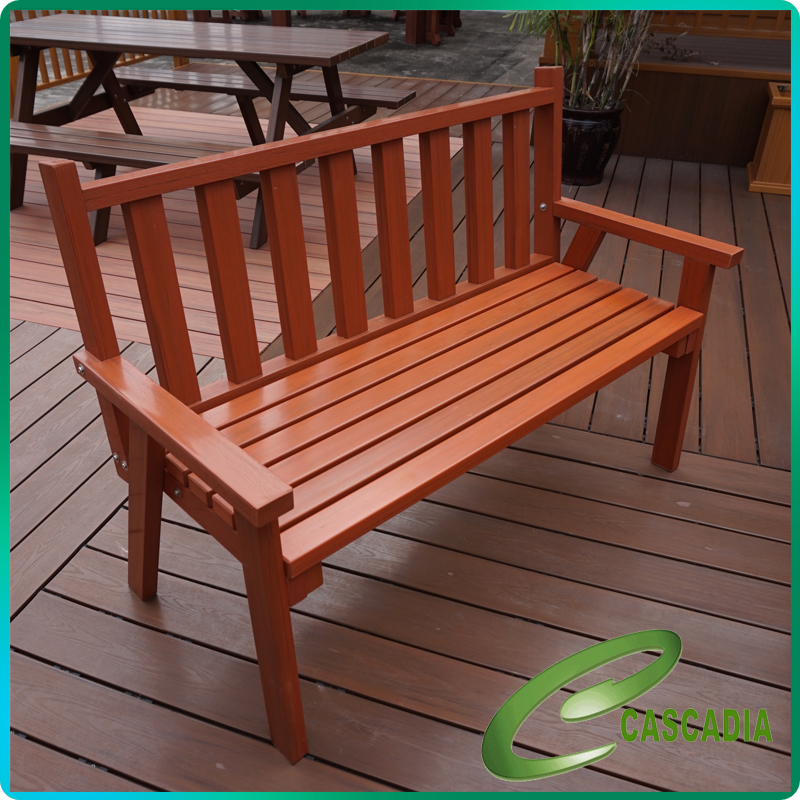 Professional wood plastic composite / wpc chair / stool From China supplier