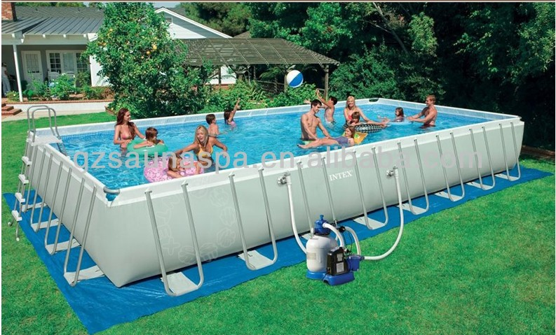 2014 The High Quality Intex Frame Swimming Pools For Home Buy 2014 New Design Intex Frame Pool Rectangular Ultra Frame Pools Intex Frame Pool Product On Alibaba Com