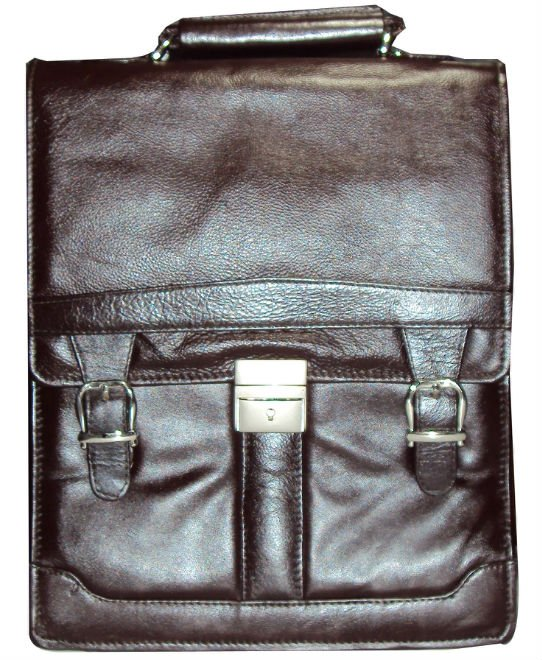 Leather Side bag gents.