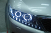 DLAND 2009-2012 SORENTO ANGEL EYE HEADLIGHT ASSEMBLY, WITH R8 LED TEAR EYE AND BI-XENON PROJECTOR , FOR KIA