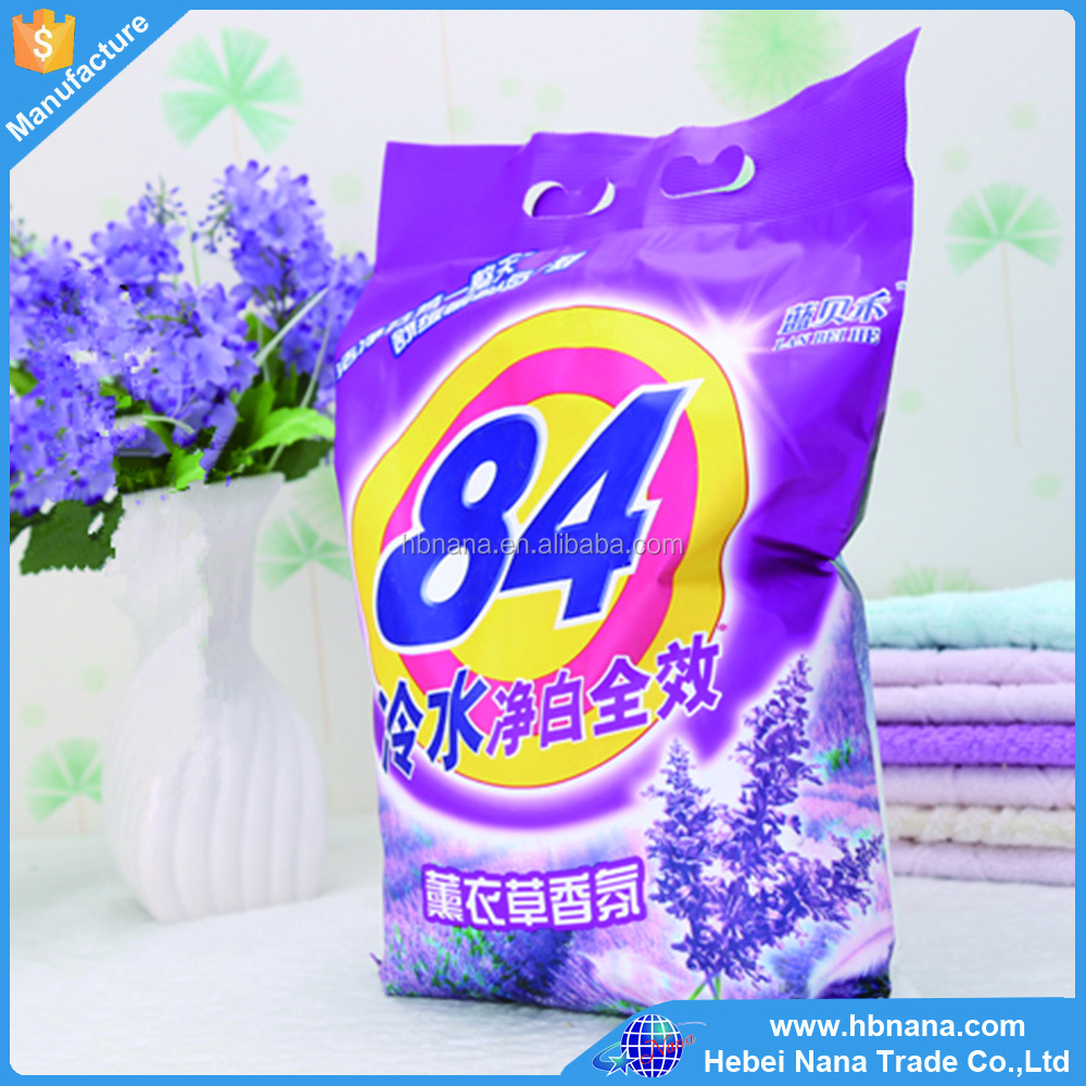 Natural Raw Materials Best Wholesale Dishwasher Powder / Laundry Washing Powder Detergent
