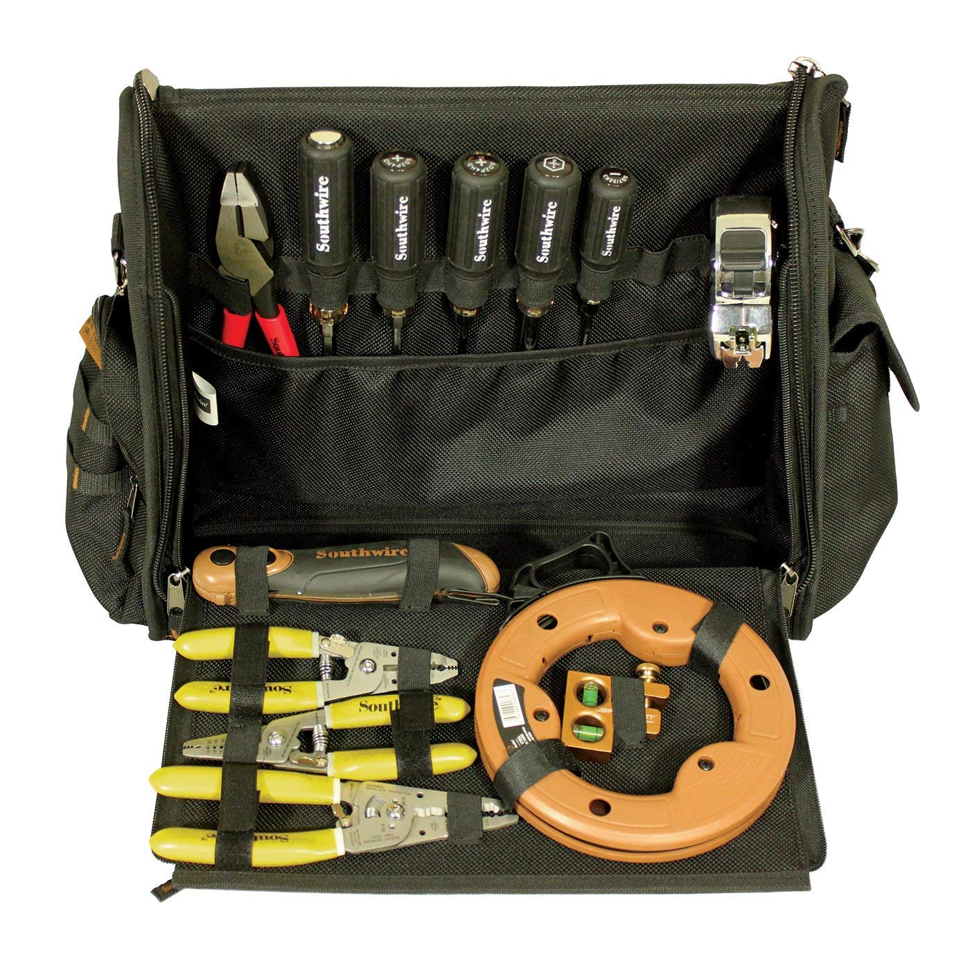 d19325271a Get Quotations · Southwire Tools   Equipment BAGMSGR Messenger Style Tool  Bag