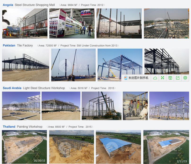 prefabricated light steel structure building
