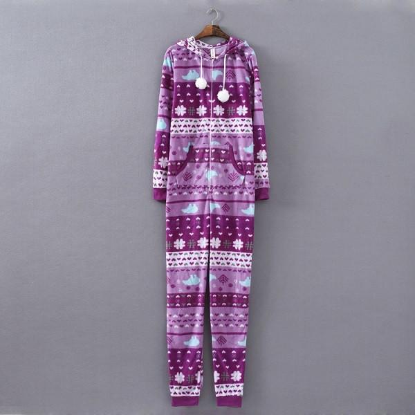 Adult Footed Pijamas 19