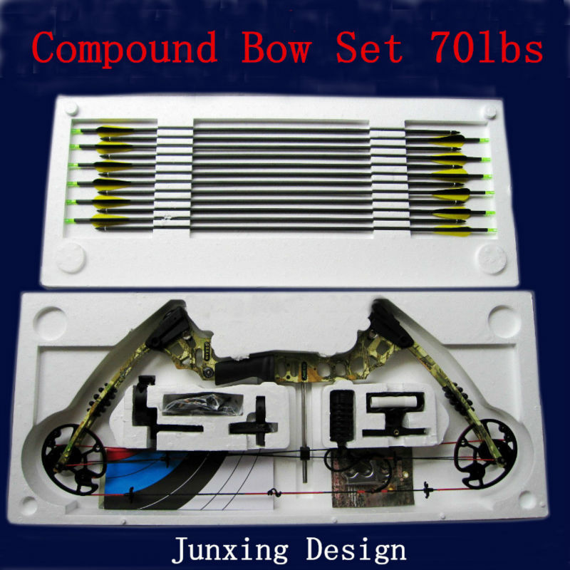 how to set up arrows for compound bow