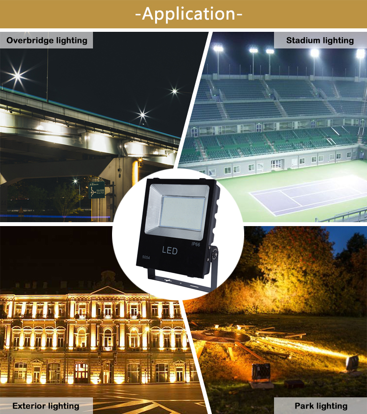IP65 outdoor water proof led floodlight reflector led flood light 50W 100W 150W 200W 300W