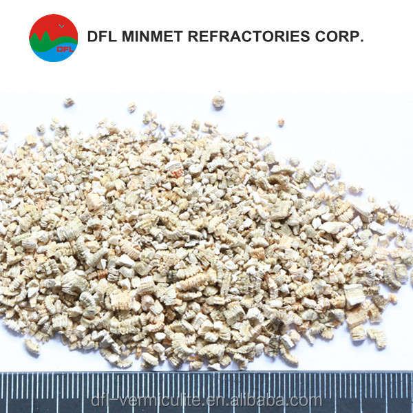 silver concentrates vermiculite