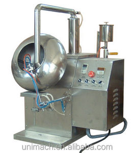 Sugar chocolate candy tablet coating pan machine/Professional peanut sugar coating machine/ Automatic Pill Sugar Coating Machine