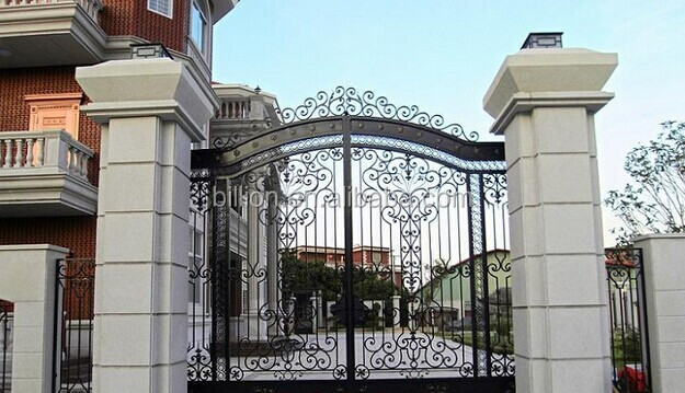 Best Sales Main House Iron Gate Design With Various Designs