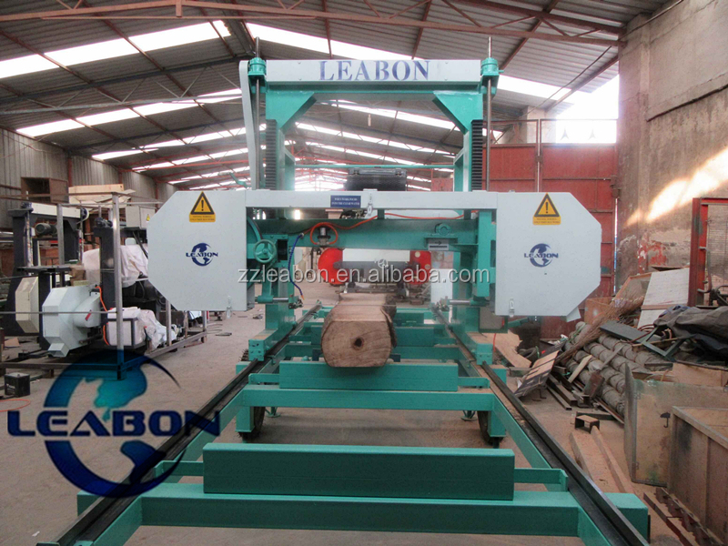 Portable Sawmill Woodworking Machine Used In Forest And Factory