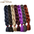 Aisi Hair Most favorable 48inch Length hair braids synthetic crochet
