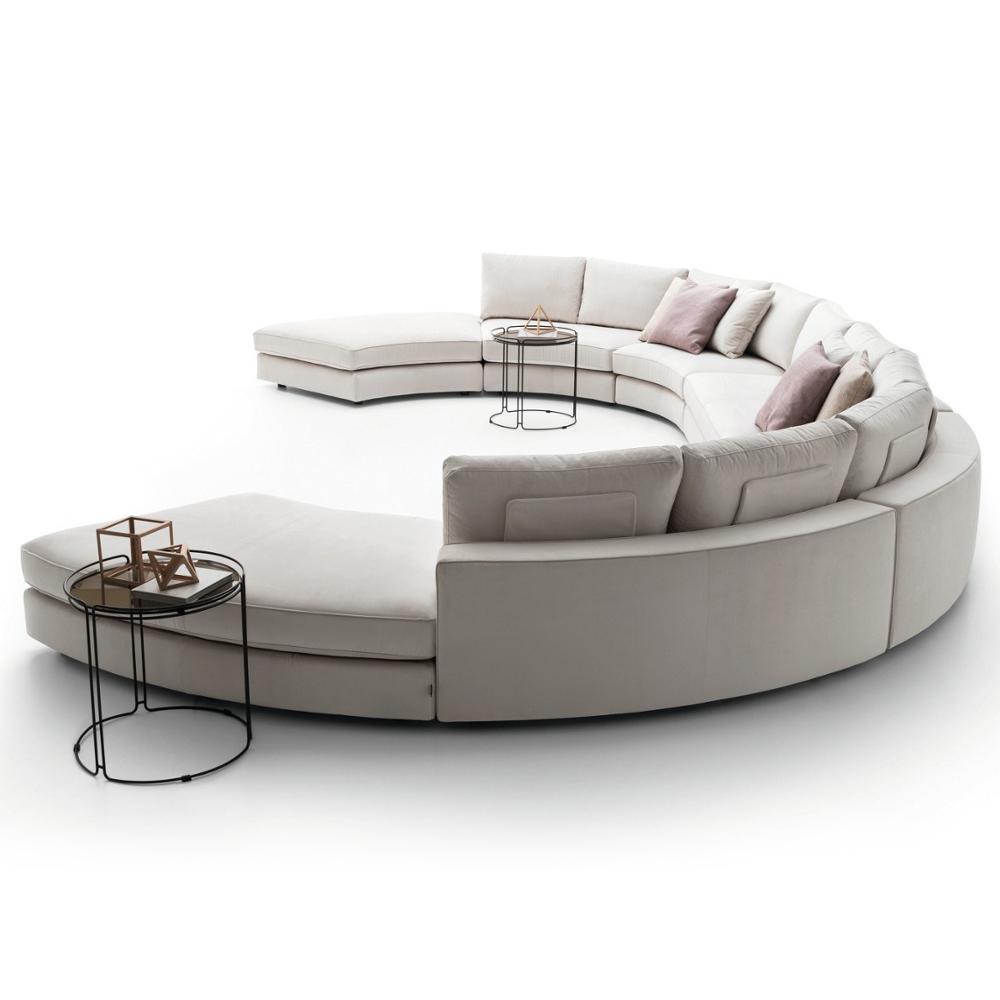 Design Fabric Sofa Set 5 Seater Modern